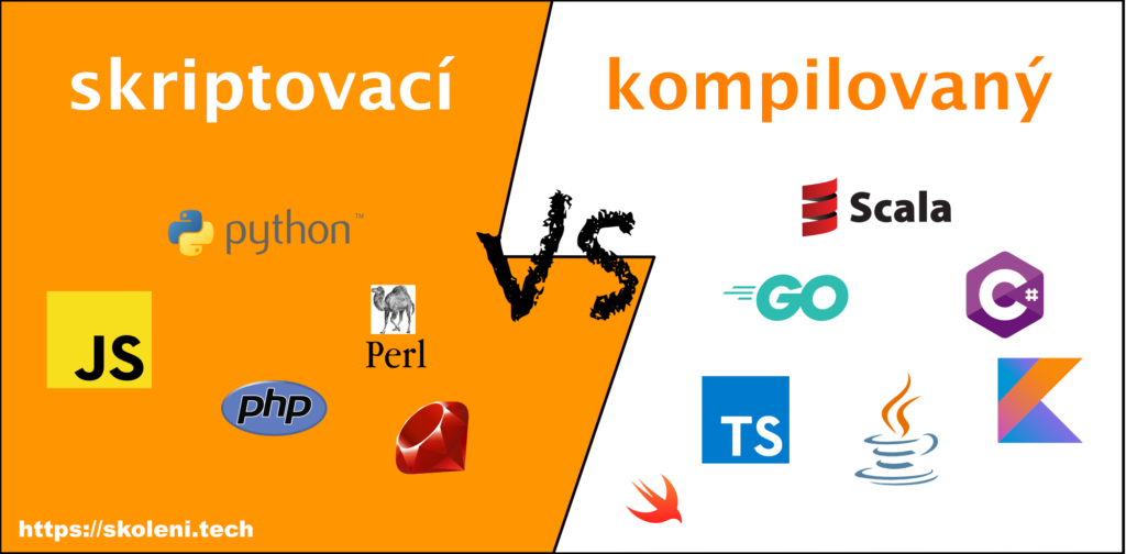 Skriptovací vs kompilované jazyky pro recruitery